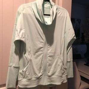 Lululemon Zip Jacket.  Size 10, color mint
